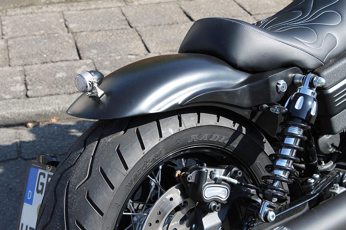 Harley Dyna Street Bob >> TXT-Customparts - Metallheckteile, Schutzbleche ...