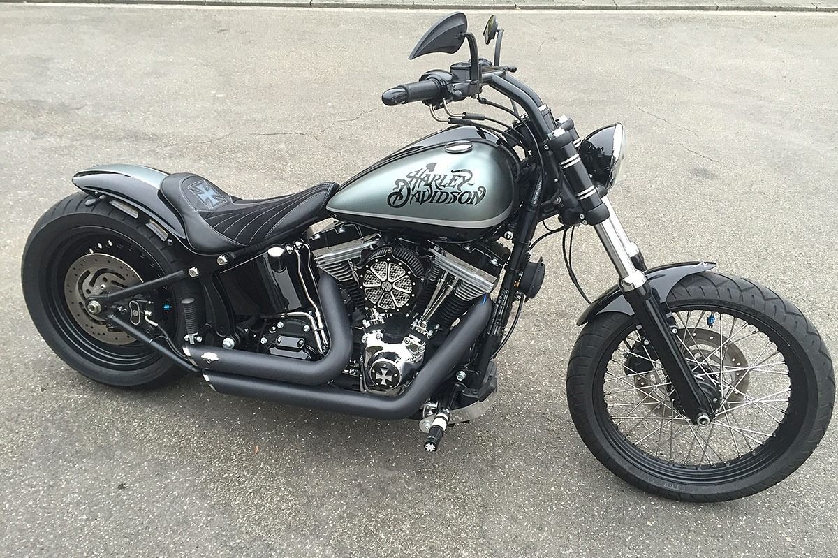 Harley Davidson Sportster  Rear Fender